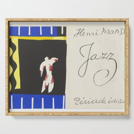 The Clown- Jazz, by Henri Matisse Serving Tray