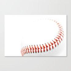 Baseball stitch Canvas Print