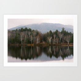 Adirondacks in Autumn Art Print