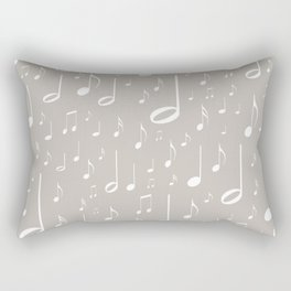 Musical notes Rectangular Pillow