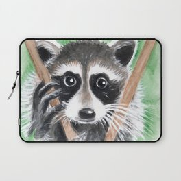 El Bandito Raccoon In The Tree Laptop Sleeve