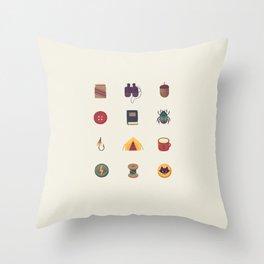 Tiny things Throw Pillow