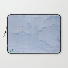 Rustic pale blue parchment paper Laptop Sleeve