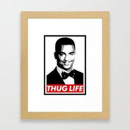 Carlton Thug Life Framed Art Print