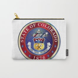 Colorado State Seal Carry-All Pouch