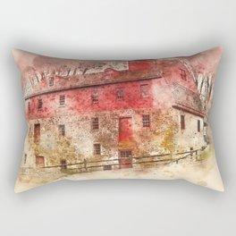 the olde mill Rectangular Pillow