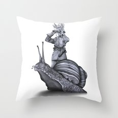 In which no explanation can be found Throw Pillow