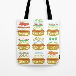 Hot Dogs! Re-do Tote Bag