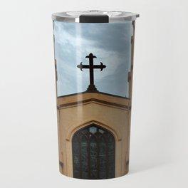 Cathedral At Night Travel Mug