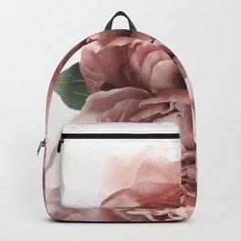 Blush Pink Floral Backpack