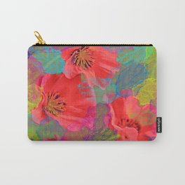 Vintage Poppies 12 Carry-All Pouch