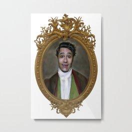 Portrait of Viago as a Young Man Metal Print