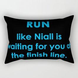 Run like Niall Rectangular Pillow