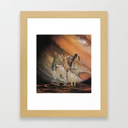 The Wild West Guide To The Galaxy Presents The Unknown Rider Jupiter Rising Framed Art Print