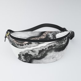 Yin Yang Agate Glitter Glam #1 #gem #decor #art #society6 Fanny Pack