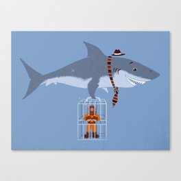 Brought My Lunch!  Canvas Print