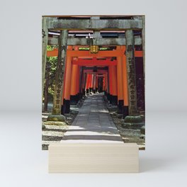 Torii gates - Kyoto, Japan Mini Art Print