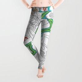 Emerald Reflection Leggings