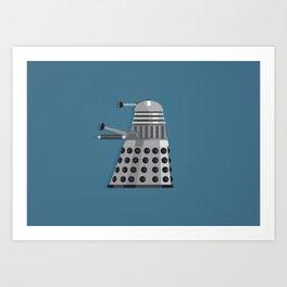 Dalek Art Print