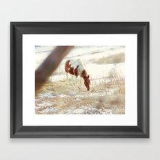 The Pretty One Framed Art Print