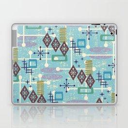 Retro Mid Century Modern Atomic Abstract Pattern 245 Laptop & iPad Skin
