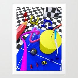 FN_TMS Art Print