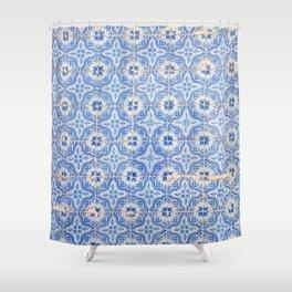 Lisbon tiles Shower Curtain