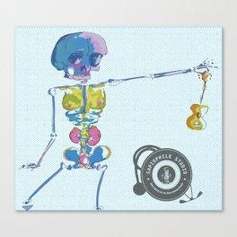 Ukulele Baby Canvas Print