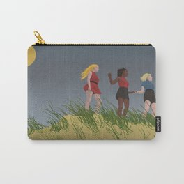 Ladies On The Beach Carry-All Pouch