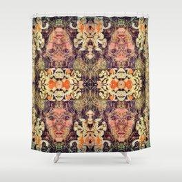 Horned Shower Curtain