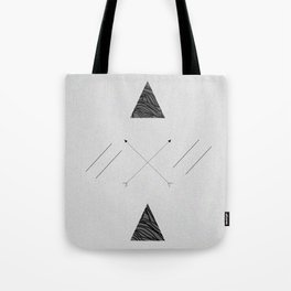 Arrows laced with Noise Tote Bag