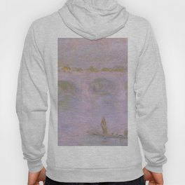 1902-Claude Monet-Waterloo Bridge in London-65 x 100 Hoody
