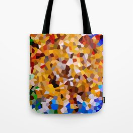 Explosion of color. Tote Bag