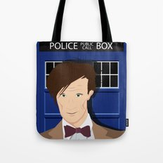 Doctor Who - Matt Smith Tote Bag