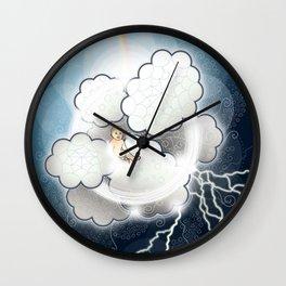 Air Baby Wall Clock