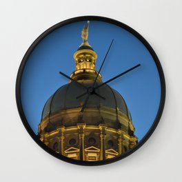 City Capital Wall Clock