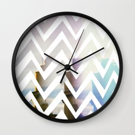 in front Wall Clock