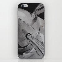 plane iPhone & iPod Skins featuring Plane by ann hsieh