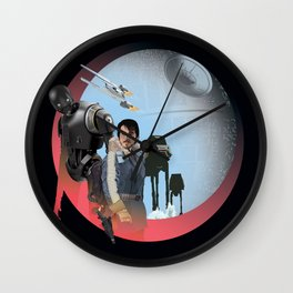 I'm with you, the captain said I had to Wall Clock