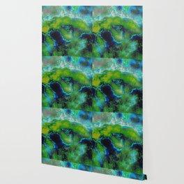 Cosmic Lime Wallpaper