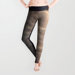 Soft light through the feathers Leggings