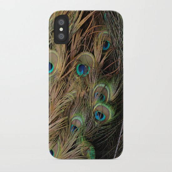 Peacock #1 iPhone Case