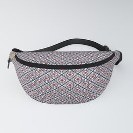Quilted Winter Fanny Pack