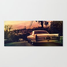 Silverlake Vista Canvas Print