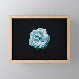 BLACK N' BLUE Framed Mini Art Print