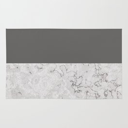Monochrome Stone Rug