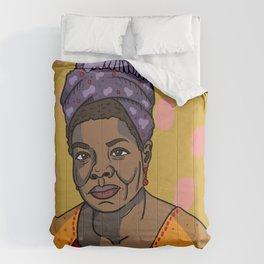Maya Angelou Comforters