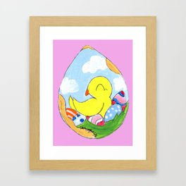 Egg Batch Framed Art Print