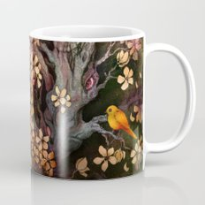 Orange Bird Coffee Mug