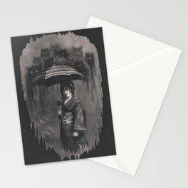 Lady Rain Stationery Cards